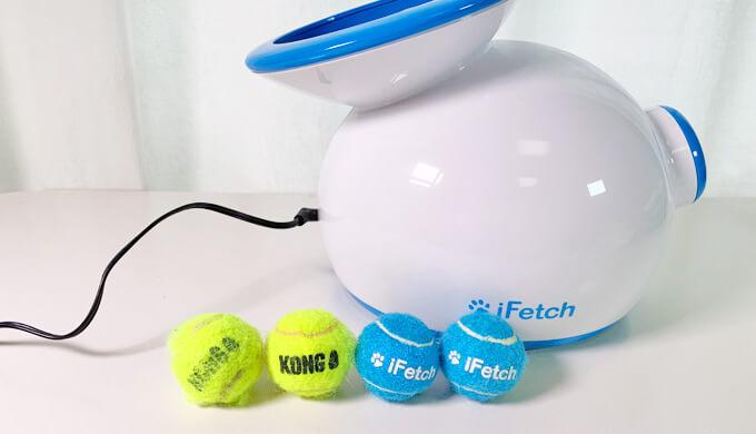 コング スクイークエアー 超小型犬用 ボール アイフェッチ ifetch kong squeakair xs