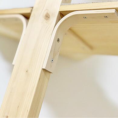 木製の棚受 キャットタワー ディアウォール