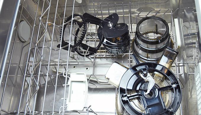 ヒューロム ジューサー 食洗器