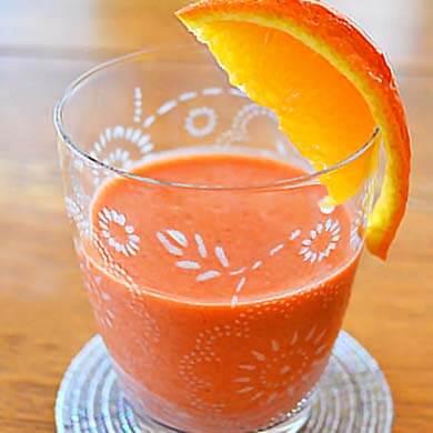 野イチゴ オレンジ ジュース