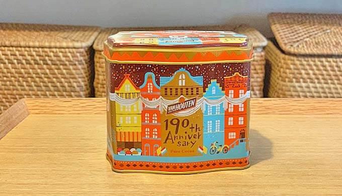 バンホーテン 190周年 記念缶