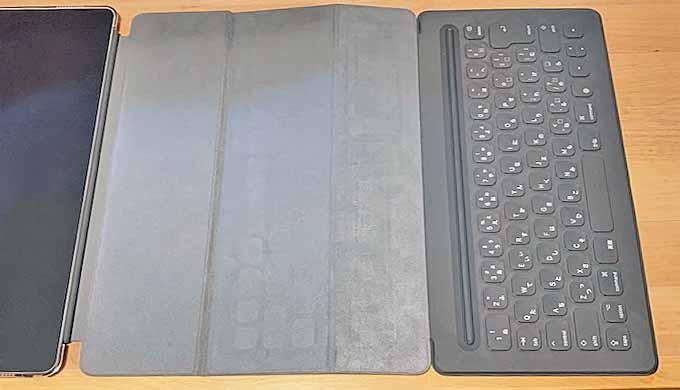 iPad Pro キーボード たたむ