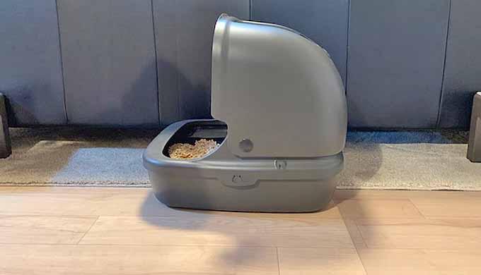 猫 トイレ オープン