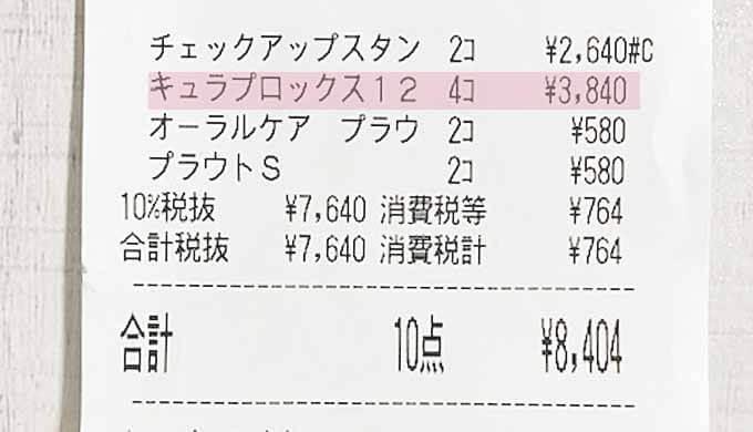 クラプロックス 価格